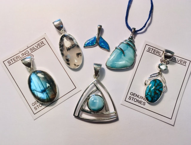 Silver Necklace Pendants